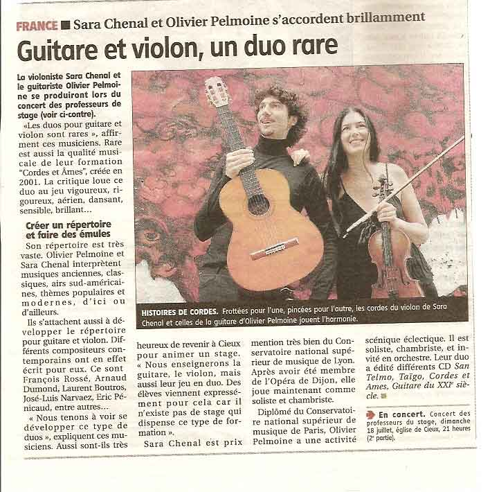 article Cieux 2010